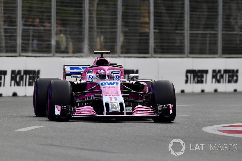 3. Sergio Perez, Force India VJM11