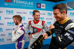 Sam Bird, DS Virgin Racing, Maro Engel, Venturi Formula E Team, Andre Lotterer, Techeetah, in the media pen
