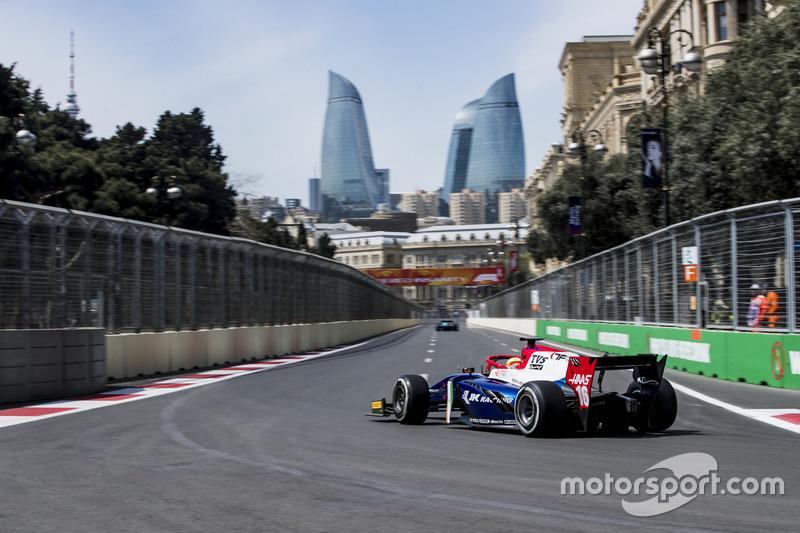 Arjun Maini (Formula 2, Azerbaijan)