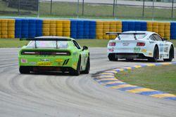 #80 TA2 Ford Mustang, Jordan Bupp, Bupp Motorsports, #11 TA2 Dodge Challenger, Henri Tuomaala, Stevens Miller Racing