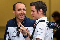 Robert Kubica, Williams et Rob Smedley, responsable de la performance du véhicule Williams
