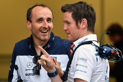 Robert Kubica, Williams and Rob Smedley, Williams Head of Vehicle Performance