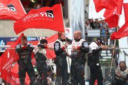 #7 Toyota Gazoo Racing Toyota TS050: Mike Conway, Kamui Kobayashi, Jose Maria Lopez and #8 Toyota Gazoo Racing Toyota TS050: Sébastien Buemi, Kazuki Nakajima, Fernando Alonso