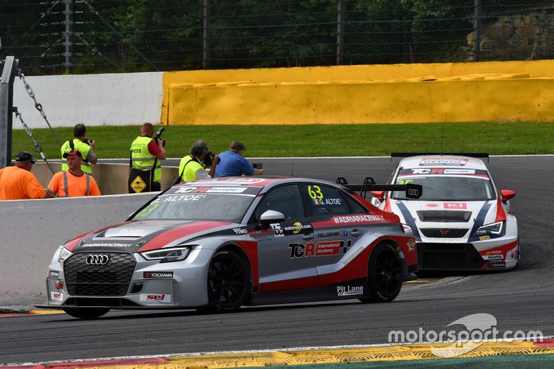 Giovanni Altoè, Pit Lane Competizioni Audi RS3 LMS TCR