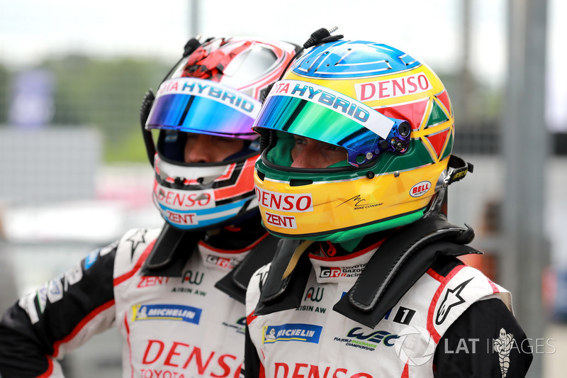 #7 Toyota Gazoo Racing Toyota TS050: Mike Conway, Jose Maria Lopez