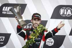 Podium: second place Esteban Guerrieri, ALL-INKL.COM Münnich Motorsport Honda Civic Type R TCR