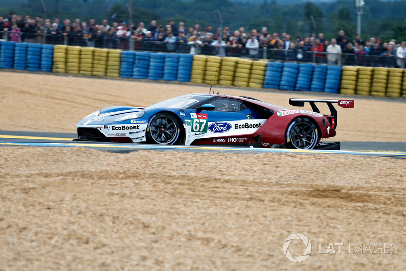 11. LMGTE-Pro: #67 Ford Chip Ganassi Racing, Ford GT