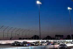 Brett Moffitt, Hattori Racing Enterprises, Toyota Tundra AISIN Group leads