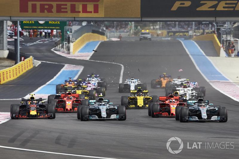 Aksi start GP Perancis