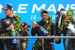 LMGTE Am podium: winners Julien Andlauer, Proton Competition, Patrick Dempsey, Dempsey Proton Competition
