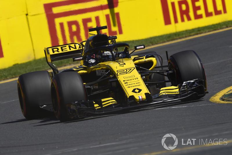 13. Nico Hülkenberg, Renault Sport F1 Team RS18