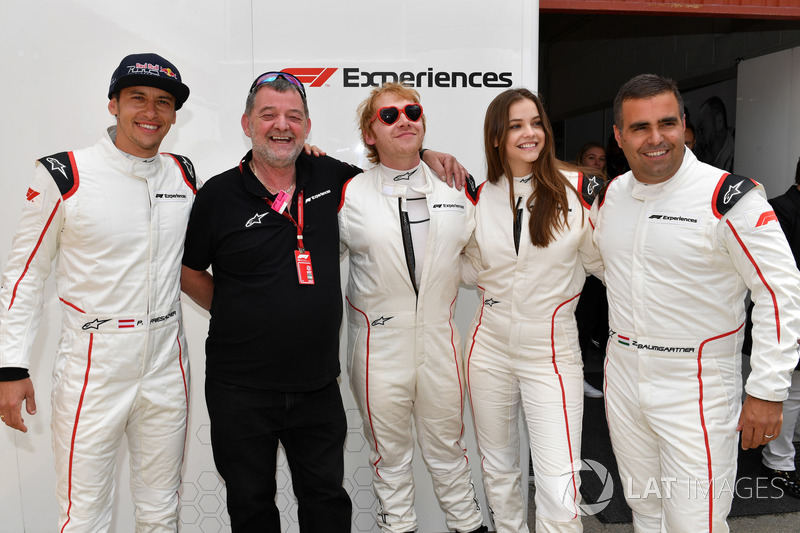 Palvin Barbi is az F1-es hétvégén járt Barcelonában