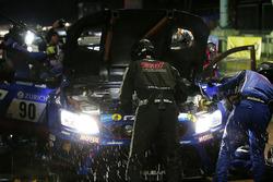 #90 Subaru Tecnica International Inc. Subaru WRX STI: Carlo Van Dam, Tim Schrick, Hideki Yamauchi, Takuto Iguchi