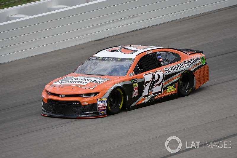 27. Corey LaJoie, TriStar Motorsports, Chevrolet Camaro Schluter-Systems