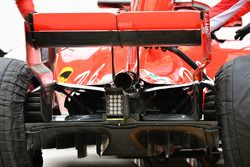 Diffuseur de la Ferrari SF71H