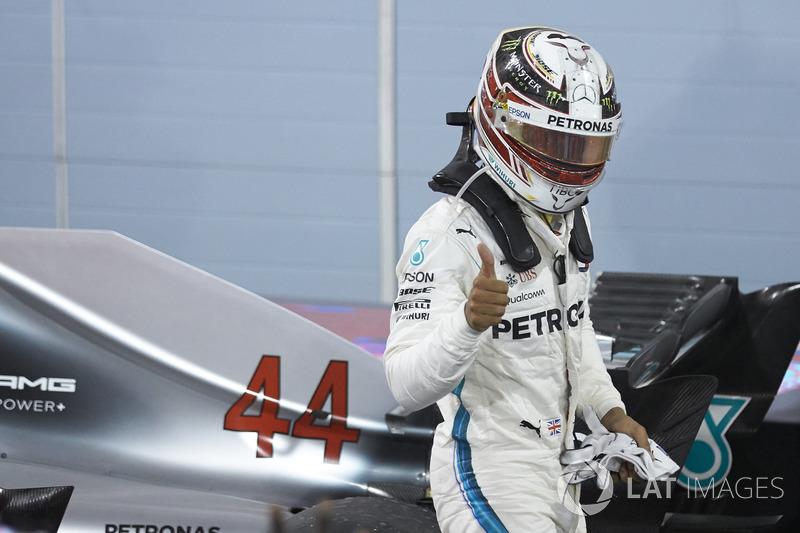3e : Lewis Hamilton (Mercedes)