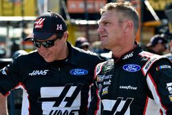 Clint Bowyer, Stewart-Haas Racing, Haas Automation Demo Day