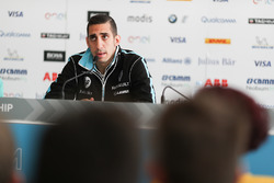 Sébastien Buemi, Renault e.Dams, in the press conference