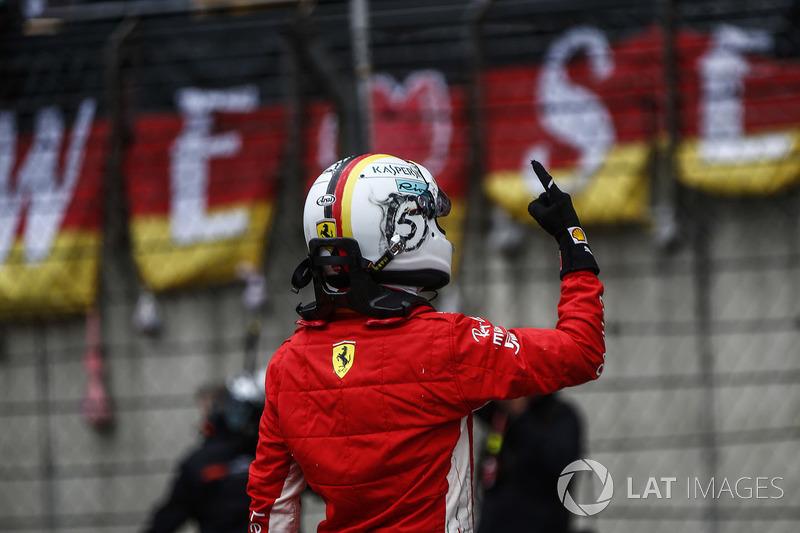 Chine - Sebastian Vettel, Ferrari