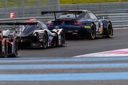 #80 Ebimotors Porsche 911 RSR: Fabio Babini, Riccardo Pera, Raymond Narac, #3 United Autosports Ligier JS P3 - Nissan: Anthony Wells, Garret Grist, Matthew Bell