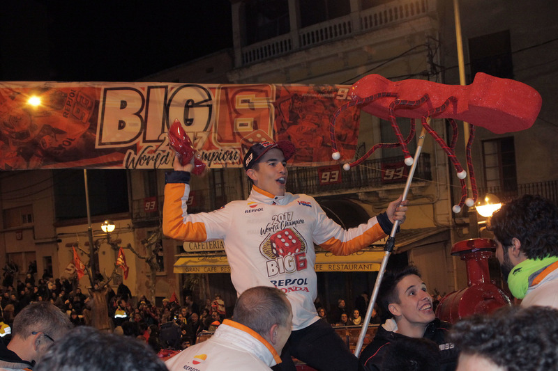 Marc Márquez viert zijn titel
