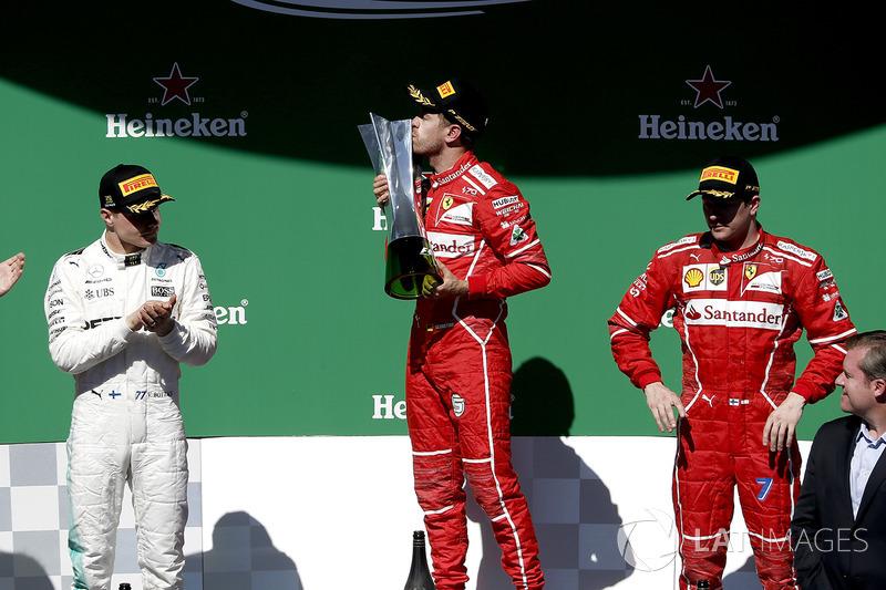 2017: Sebastian Vettel, Ferrari