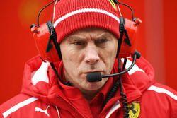 Jock Clear, Chief Engineer Ferrari