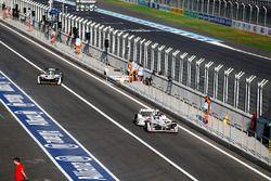 Jose Maria Lopez, Dragon Racing, et Lucas di Grassi, Audi Sport ABT Schaeffler dans les stands