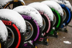 Pirelli 2018 line up covered in snow