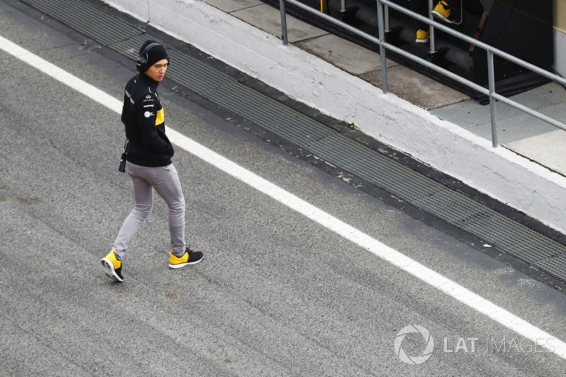 Jack Aitken, Third and Reserve Driver, Renault Sport F1 Team Team
