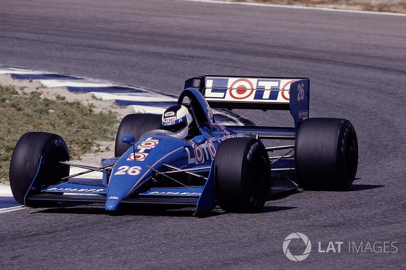 Стефан Йоханссон, Ligier JS31 Judd
