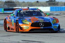 Mercedes AMG GT3 (№75) команды SunEnergy1 Racing