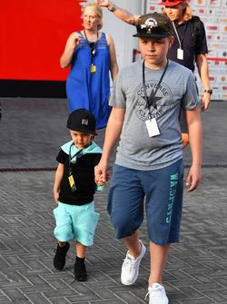 Robin Raikkonen, fils de Kimi Raikkonen, Ferrari