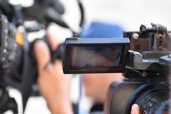 Robert Kubica, Williams sur l'écran d'une caméra
