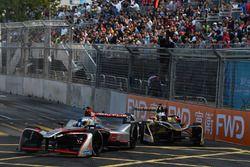 Maro Engel, Venturi Formula E, precede Andre Lotterer, Techeetah