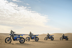 Мотоциклы Yamaha WR450F Rally, Yamaha Official Rally Team
