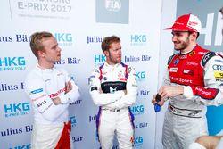 Felix Rosenqvist, Mahindra Racing, Sam Bird, DS Virgin Racing, Daniel Abt, Audi Sport ABT Schaeffler