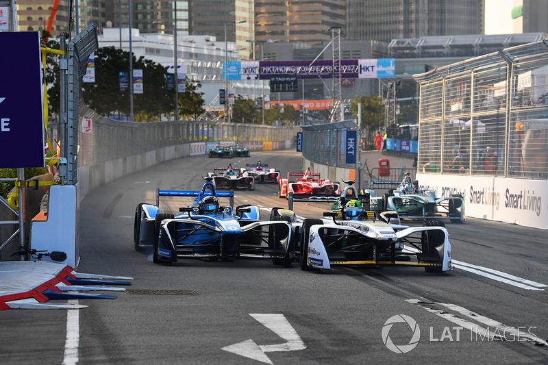 Sébastien Buemi, Renault e.Dams, battles with Lucas di Grassi, Audi Sport ABT Schaeffler