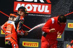 Podio: Chaz Davies, Aruba.it Racing-Ducati SBK Team