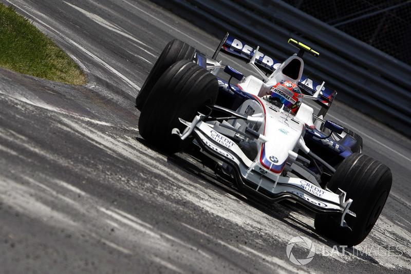 2008年:ロバート・クビサ(BMWザウバー)