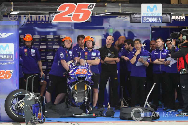 Garaje de Maverick Viñales, Yamaha Factory Racing