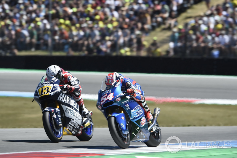 Romano Fenati, Marinelli Snipers Team, Mattia Pasini, Italtrans Racing Team