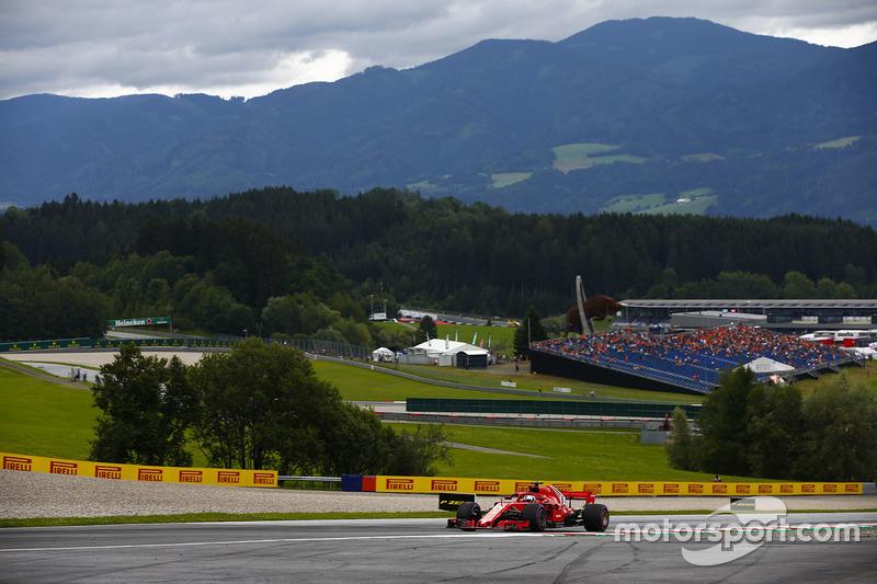 3. Sebastian Vettel, Ferrari SF71H