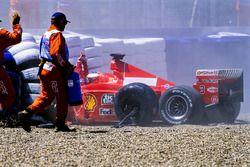Accidente de Michael Schumacher, Ferrari