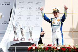 Podium: Racewinnaar Lando Norris, Carlin