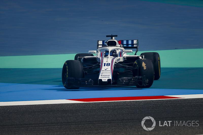 Lance Stroll, Williams FW41, testacoda