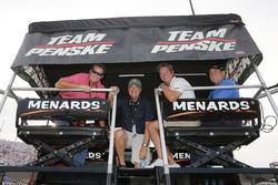 Ryan Blaney, Team Penske, Ford Fusion DEX Imaging