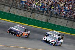 Denny Hamlin, Joe Gibbs Racing, Toyota Camry FedEx Office A.J. Allmendinger, JTG Daugherty Racing, Chevrolet Camaro Kroger ClickList