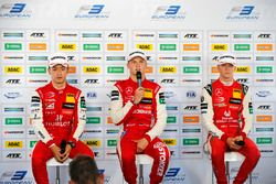 Press Conference, Guanyu Zhou, PREMA Theodore Racing Dallara F317 - Mercedes-Benz, Ralf Aron, PREMA Theodore Racing Dallara F317 - Mercedes-Benz, Mick Schumacher, PREMA Theodore Racing Dallara F317 - Mercedes-Benz