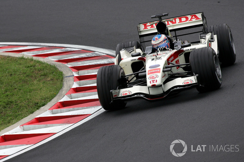 Jenson Button - Honda RA106 - GP de Hungría 2006